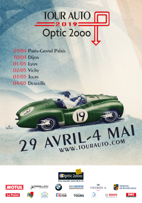 Tour Auto Optic 2000 - Étape à Alençon